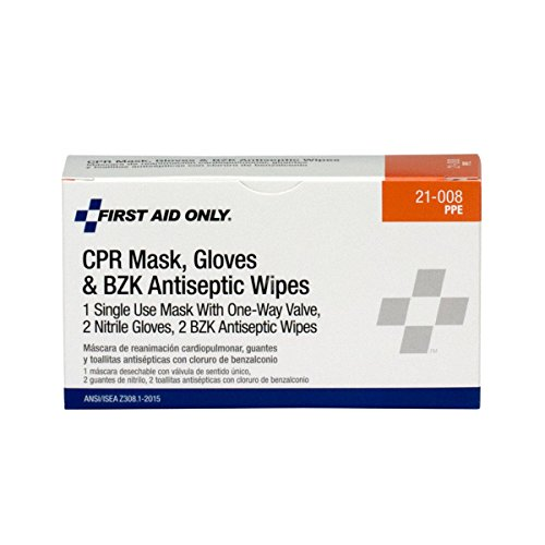 First Aid Only 21-008 4 Piece CPR First Aid Pack
