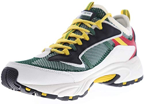 Skechers Stamina Berendo Mens Sneakers Black/Green 12 W