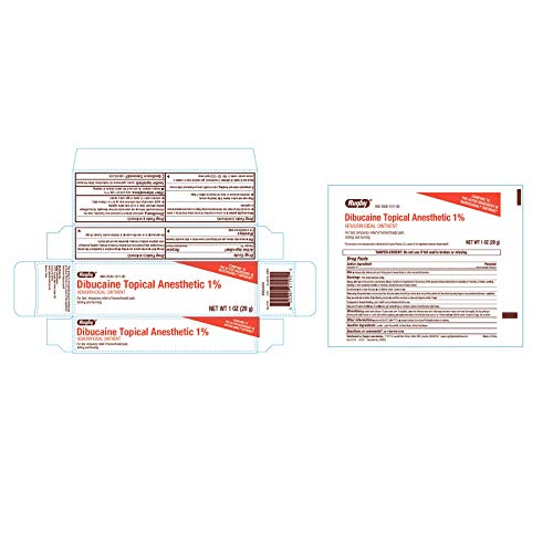 Rugby Dibucaine Topical Anesthetic Ointment 1%