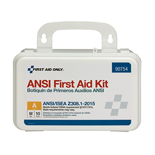 First Aid Only 90754 10 Person Bulk ANSI A, Plastic