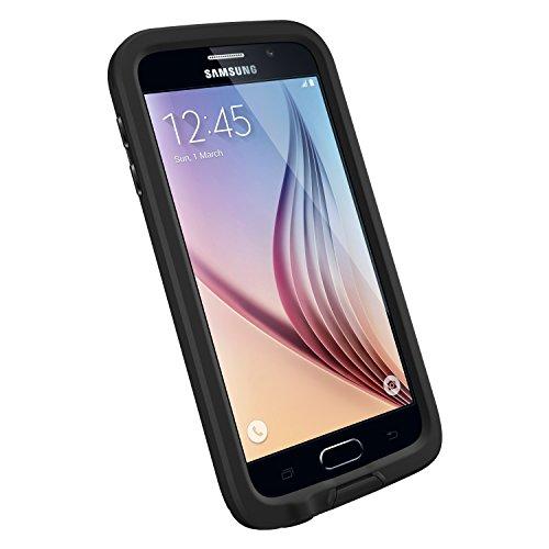 LifeProof FRĒ SERIES Waterproof Case for Samsung Galaxy S6 - Retail Packaging - Black (77-51242)