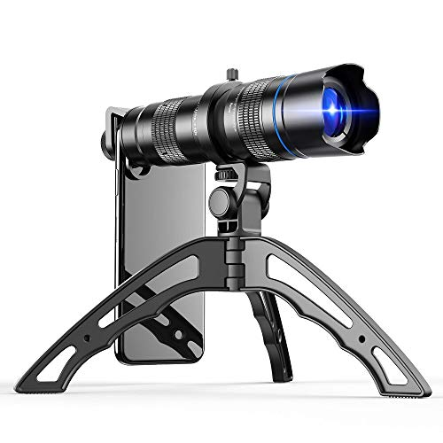 Apexel HD 20-40X Zoom Lens with Tripod Telephoto Mobile Phone Lens Telescope for iPhone Samsung Other Smartphones Hunting Camping Sports