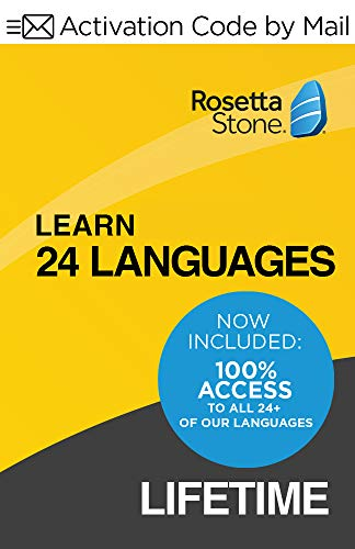 Rosetta Stone Learn Unlimited Languages  Lifetime Access - Learn 24 Languages  PC/Mac Keycard