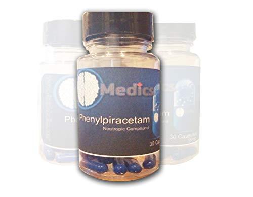 Phenylpiracetam -30 Count Capsules- BrainMedics