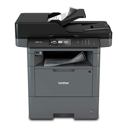 Brother Monochrome Laser Printer, Multifunction Printer, All-in-One Printer, MFC-L6700DW, Advanced Duplex, Wireless Networking Capacity, 70-Page ADF Capacity, Amazon Dash Replenishment Ready