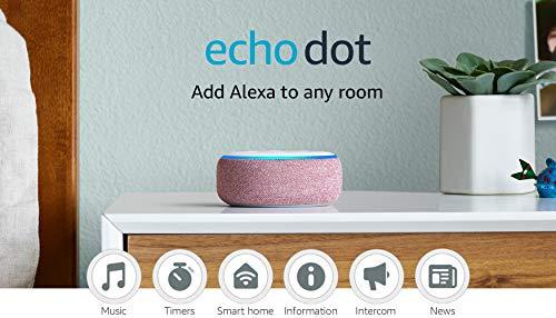 Echo Dot (3rd Gen) - Smart speaker with Alexa - Plum