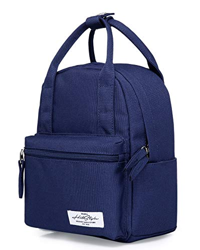 8811s Extra Mini Backpack Purse Cute for Women, Navy