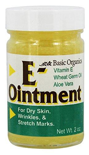 Basic Organics E-Ointment - 2 oz, Pack of 5