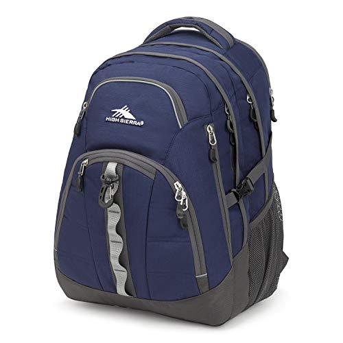 High Sierra Access 2.0 Laptop Backpack, True Navy/Mercury, One Size