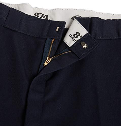 Dickies Men's Original 874 Work Pant, Dark Navy, 32W x 30L