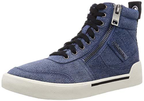 Diesel Men's Fashion Sneaker, Indigo, 8.5