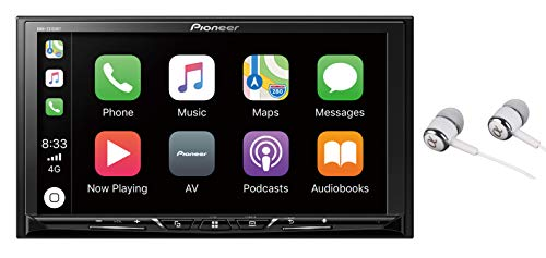 Pioneer 7' WVGA Display, Apple CarPlay, Android Auto, Built-in Bluetooth, AppRadio Mode, Pandora, Spotify, MIXTRAX, USB/AUX Digital Multimedia Video Receiver