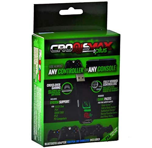 CronusMax Plus Cross Cover Gaming Adapter for PS4 PS3 Xbox One Xbox 360 Windows PC