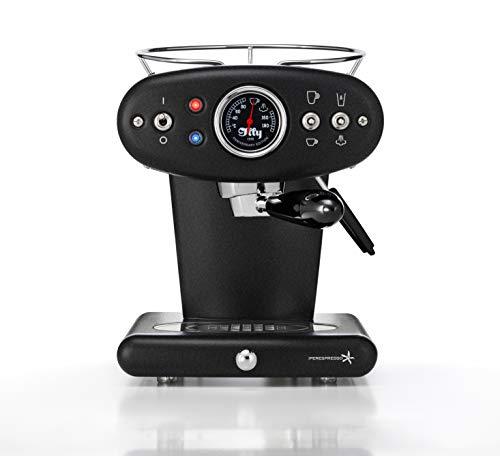 illy 60331 X1 Espresso Machine, 13 x 9.8 x 10.60, Cast Iron