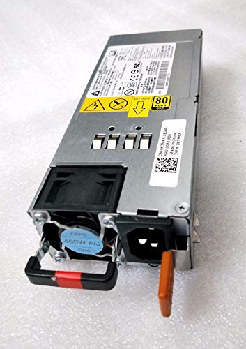 New Genuine PS for Dell Force10 Switch S6000 Front-Back Airflow 460W Power Supply 0DRN5M DRN5M