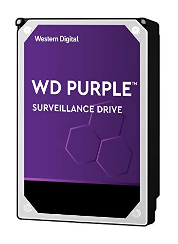 Western Digital 10TB WD Purple Surveillance Internal Hard Drive - 7200 RPM Class, SATA 6 Gb/s, , 256 MB Cache, 3.5' - WD101PURZ (Old Version)