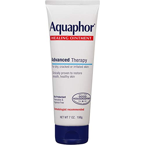 Aquaphor Healing Ointment Advanced Therapy Skin Protectant 7 oz (Pack of 5)