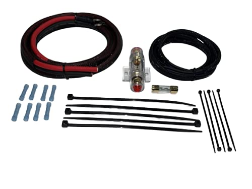 Harley Davidson Amplifier Wiring kit Made to fit All Motorcycles and amplifiers Including PBR300x2 PBR300x4 Hogtunes J&M Diamond Micro and All Others