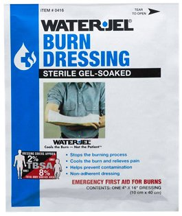 Water-Jel Burn Dressing Burn Care Products 4' x 16' (1 Packet) - MS46230
