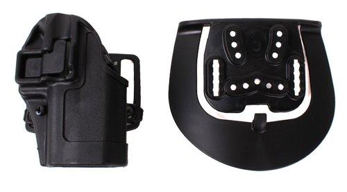 BLACKHAWK Serpa CQC Belt Loop and Paddle Holster For Glock 26/27/33, Right Hand, Matte Black - 410501BK-R