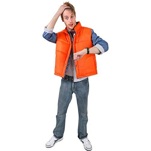 Adult Marty McFly Halloween Costume Orange