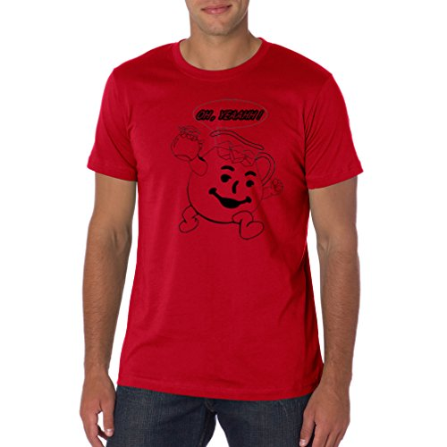 Live-Tees Red Kool-aid Distressed Style T Shirt 2XL Red