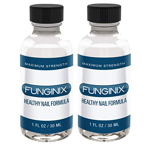 FUNGINIX Finger and Toe Fungus Treatment - Maximum Strength Solution, Eliminate Fungal Infections, Powerful & Effective (2 Bottles)