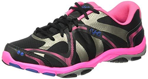 Ryka Women's Influence Cross Training Shoe Trainer, Black, 10 W US