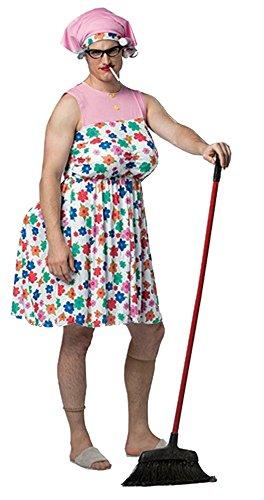 Rasta Imposta Brokedown Housewife Adult Costume - One Size
