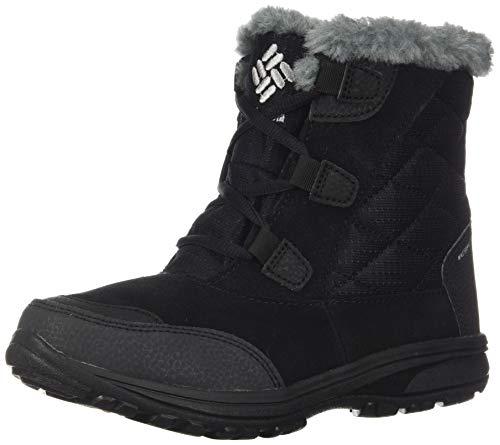 Columbia Women's Ice Maiden Shorty Snow Boot, Black, Grey, 9.5