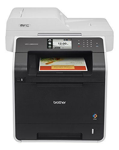 Brother Printer MFC-L8850CDW Wireless Color Laser Printer with Scanner, Copier and Fax, Amazon Dash Replenishment Ready