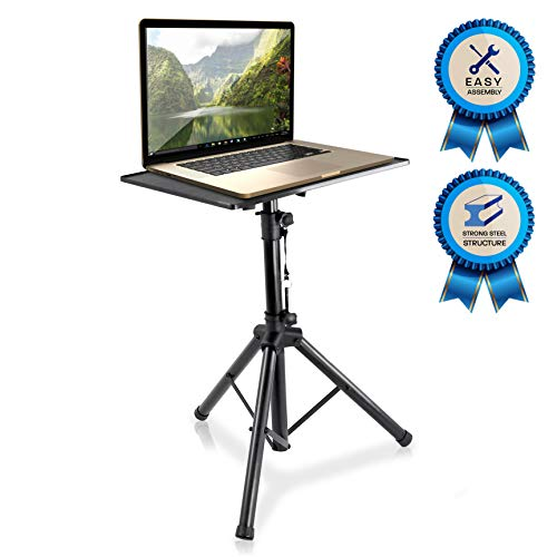 Pyle-Pro Pro 28'-46' Universal Device Projector, Height Adjustable Laptop, Computer DJ Equipment Stand Mount Holder, Good For Stage or Studio-Pyle PLPTS4, 28'' To 46'