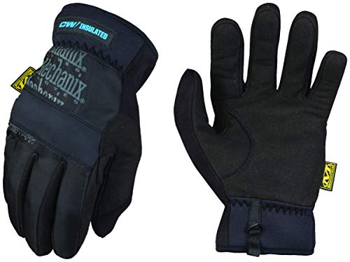 Mechanix Wear: Winter Work Gloves for Men - FastFit Insulated; Touchscreen Capable (X-Large, Black)
