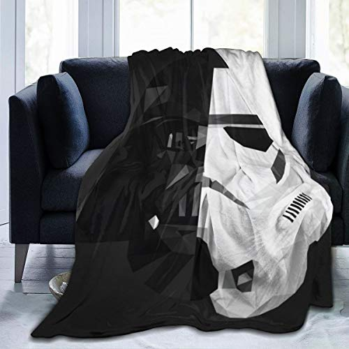 Storm Trooper Star Wars Blanket Oversized Warm Adult Super Soft Blanket with Soft Anti-Pilling Flannel for Adults & Kids 3D Print 60x50 in