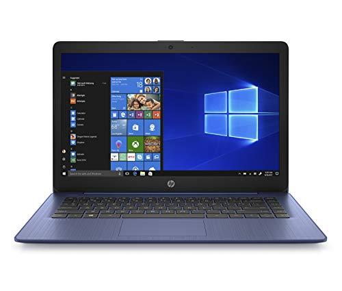 HP Stream 14inch HD(1366x768) Display, Intel Celeron N4000 Dual-Core Processor, 4GB RAM, 32GB eMMC, HDMI, WiFi, Webcam, Bluetooth, Win10 S, Royal Blue, 14-cb161wm (Renewed)
