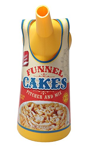 Baker's Corner Funnel Cake Mix Kit With Pitcher