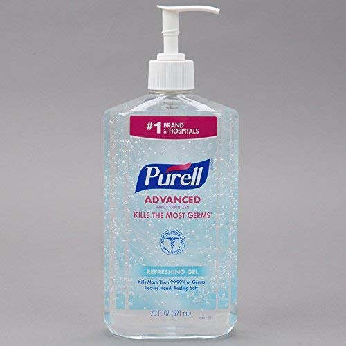Hand Sanitizer, 20oz Pump Bottle, Sold as 1 Each
