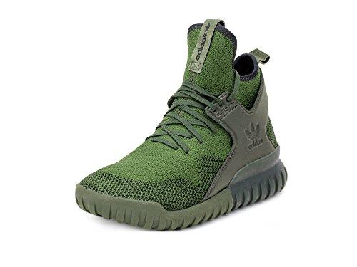 Adidas Mens Tubular X Primeknit Running Shoes (9 D(M) US)