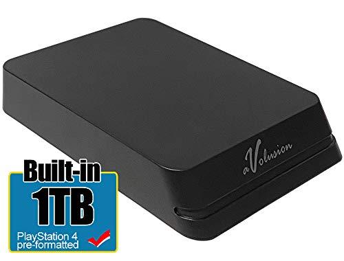 Avolusion Mini HDDGear Pro 1TB USB 3.0 Portable PS4 External Gaming Hard Drive (PS4 Pre-Formatted) HD250U3-X1-PRO-1TB-PS - 2 Year Warranty