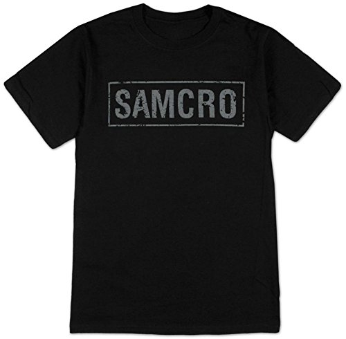 Sons of Anarchy  SAMCRO Banner T Shirt Size XL, Black