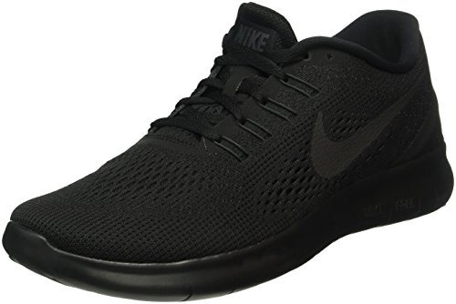 Nike Mens Free RN Running Shoes Black/Black/Anthracite 831508-002 Size 10