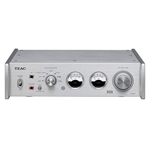 Teac AI503S USB-DAC/Premain Amplifier DTV Converter, Silver