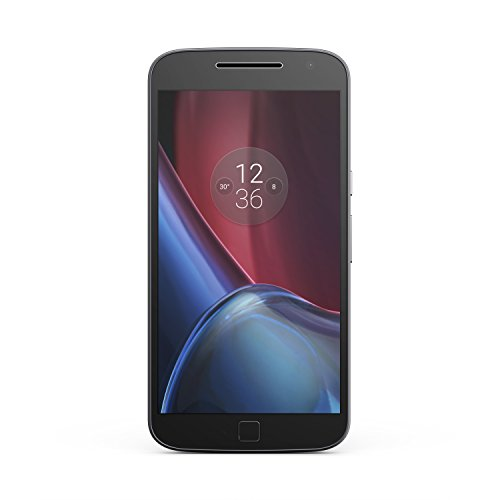 Moto G Plus (4th Gen.) Unlocked - Black - 16GB Storage + 2GB RAM