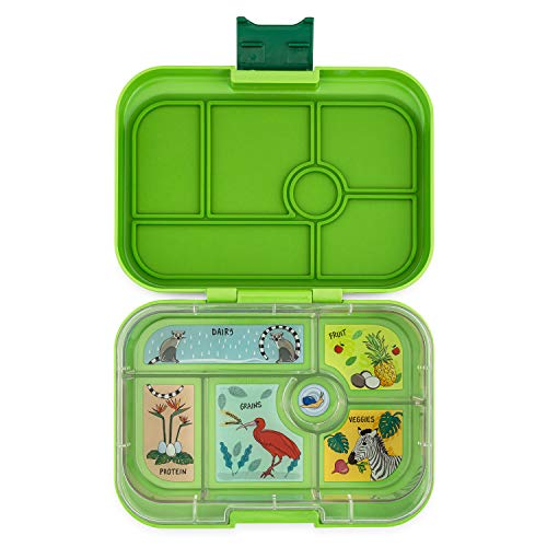 YUMBOX Original Leakproof Bento Lunch Box for Kids (Congo Green)