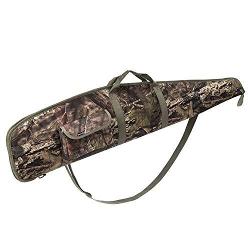 AUMTISC 44 Inch Rifle-Case Soft Shotgun-Bag - with Adjustable Shoulder for Scoped Rifles Camouflage
