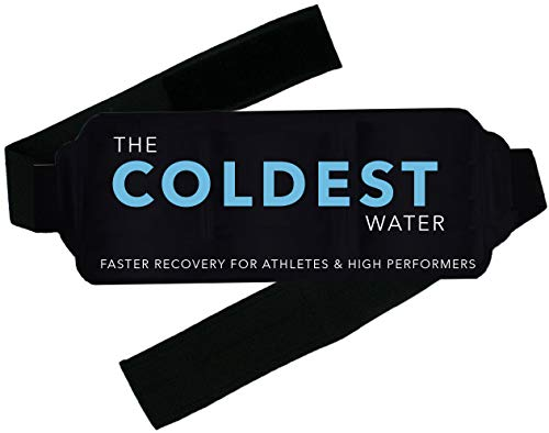 The Coldest Ice Pack Gel Reusable - Hot + Cold Therapy - Flexible Compress Best for Back Pain Hip Shoulder Neck Ankle Sprain Recovery, Muscle Injury Medical Grade Ice Packs