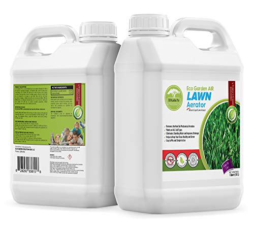 Eco Garden PRO Liquid Lawn Aerator - Liquid Conditioner | Treatment | Loosener | Improves Lawn Aeration & Drainage | Alternative to Manual Lawn Aerators - 1 Quart