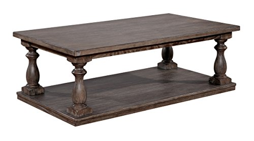 HOMES: Inside + Out Grabowski Coffee Table Grey