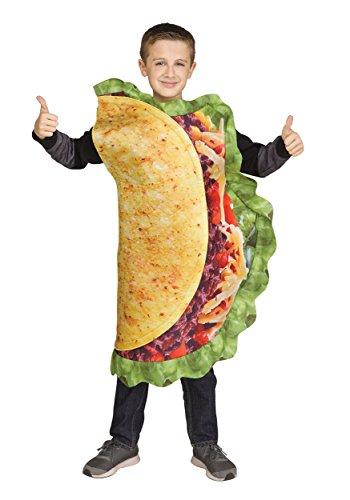 Kids Realistic Taco Costume Standard