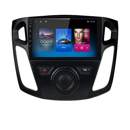 """9 Inch Android 10 hizpo Car Radio Player for Ford Focus 2012-2017 Car Stereo 9"""" Touch Screen GPS Navigation Supports Mirror-Link Bluetooth Head Unit Supports Backup Camera"""